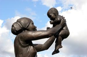 Bronze Woman. Courtesy of Lambeth Council