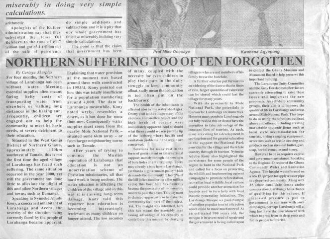 Northern Suffering